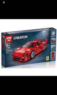 *In Stock* 21004 Ferrari F40 Sports Car Racer Creator   Compatible with Lego 10248