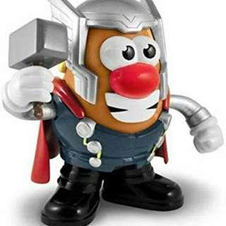Playskool Marvel Mr. Potato Head Thor