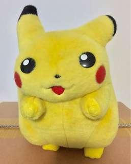 Authentic TOMY Big Pokémon Pikachu Soft Plushy Stuff Toy