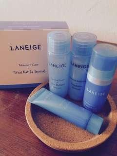 Laneige Trial Set (4 Items) FOC postage to WM