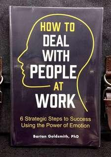 #3×100《NEW! + Building Up The Emotional Fitness At Work》Barton Goldsmith - HOW TO DEAL WITH PEOPLE AT WORK : 6 Strategic Steps to Success Using the Power of Emotion