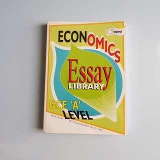 A-level Economics Essay Book