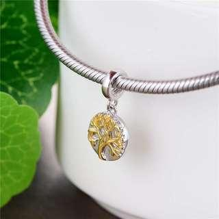 Code S109 - Tree Of Life 100% 925 Sterling Silver Charm compatible with Pandora