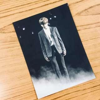 [wts] bts jungkook wings tour blu-ray postcard