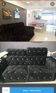 Sofa urgent sale - pick up by 26th Sept
