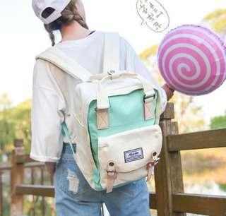 Korean Pastel Candy Backpack