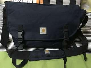 Carhartt Parcel Messenger Bag Navy (Large)