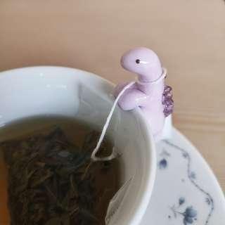 Handmade Dinosaur Tea Bag Holder #XMAS25