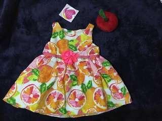 Balloon baby dress