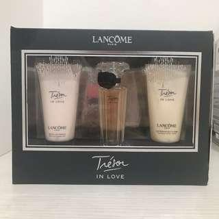 Lancome Tresor Perfume Lotion and Gel Set