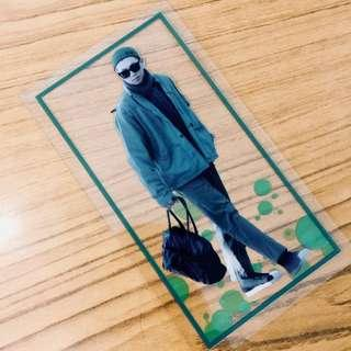 [wts] bts rm namjoon fansite transparent postcard