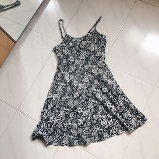Factorie Floral Spag Dress