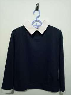 Formal Top / Oxford Top Navy