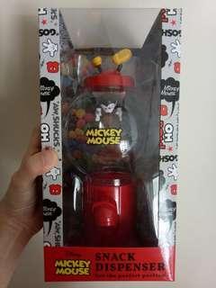 Disney Mickey Mouse Snacks Dispenser