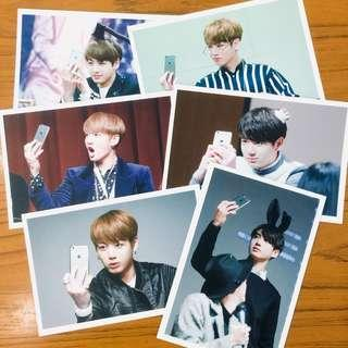 [wts] bts jungkook fansite postcards