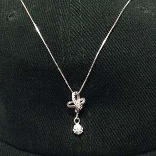 Genuine 925 Sterling Italy Silver Necklace