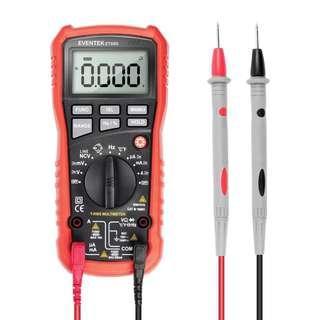 919. 3999 Counts Digital Multimeter, Eventek ET680 Auto Ranging,1000V Meter Tester Best For Measuring AC, DC Amp/Ohm/Volt AC/DC Multi Tester with Backlight