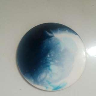 agape resin・月球體・樹脂杯墊Wooden Cup Mat