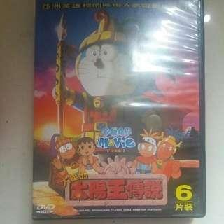 多啦A夢 大電影 DVD 5張