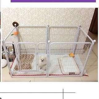 寵物圍欄(白色)