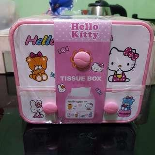 Hello Kitty Tissue Holder/organizer