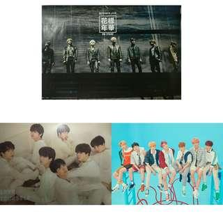 [CLEARANCE] BTS Posters