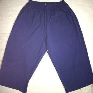Dark Blue Pants, 100% Cotton,  Size M