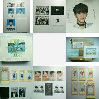 [CLEARANCE] BTS Offical Items