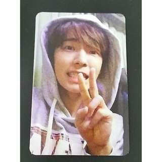 [OFFICIAL!!] Super Junior Donghae The Beat Goes On KR press album photocard
