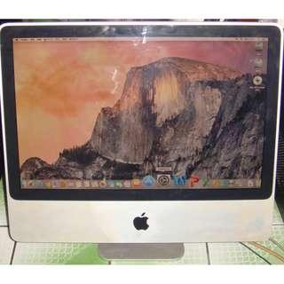 Apple iMac Core 2 Duo 2.4  20英寸(2008年初)