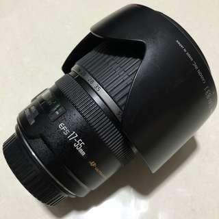 Canon EFS 17-55mm F/2.8 IS USM