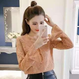 Lacey Long Sleeve Top