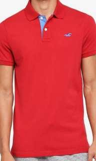 Authentic Hollister Polo Tee Shirt