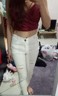 Riped jegging/legging/jeans BKK