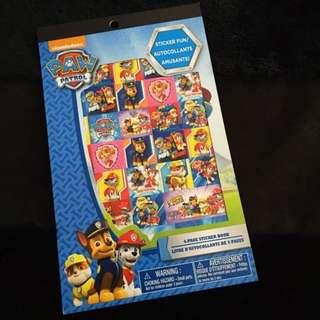 Paw Patrol party supplies - stickers booklets / party gifts / goodie bag gifts / children's day gift