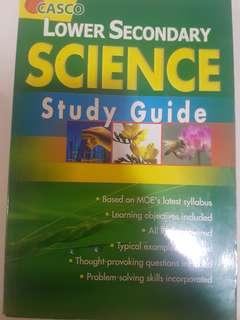 Lower Secondary Science study guide