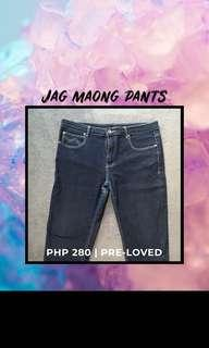 Jag Maong Pants (Size 34 / M to L)