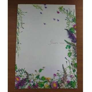 2 x Notebooks for your Pressed Flower Project