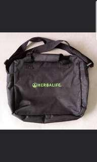 Herbal Life Zip Laptop Bag