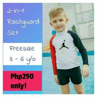🌈 ONHAND! SALE!! Freesize: Stretch, fits 3 - 6 years old ✔High Quality fabric  ✔1 item only