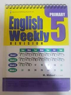 English Weekly Pri 5 revision EPH $7.90