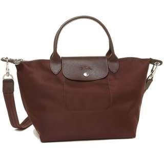 SALE Longchamp Brown Bag with Sling