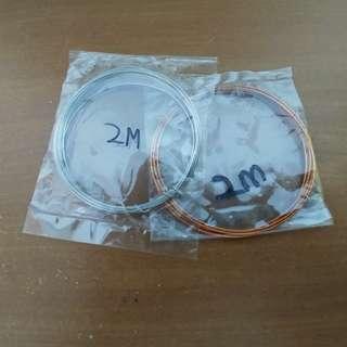2 x 2m Wire