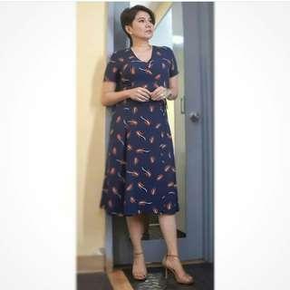 Amy Perez Overlap Dress