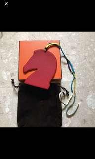 Authentic Brand New Hermes Rodeo Horse Head Bag Charm