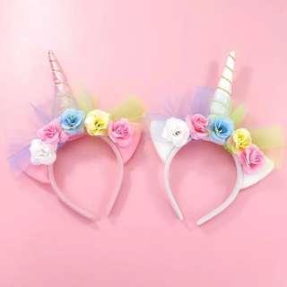 Handmade unicorn hairband