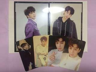 IKON Song/Yunhyeong Return photocard and photoflim red, black version KPOP