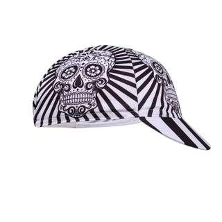 🆕! Road Skeleton Fixed Gear Bandana Fixie Headband Cap  #OK