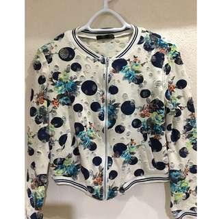 Girl's Cotton Zipper Jacket