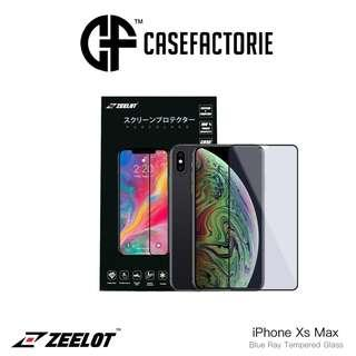 Zeelot Pureglass Blu Ray Tempered glass For iPhone Xs Max